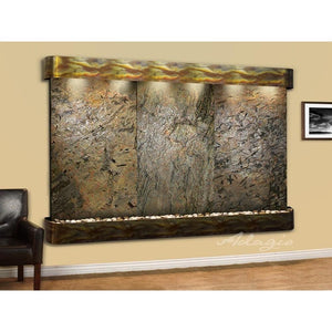 Solitude River Wall Water Feature - Earth Inspired Products