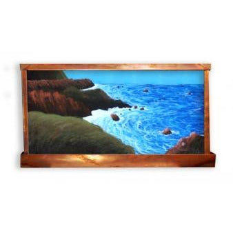 High Tide Water Painted Wall Fountain - Earth Inspired Products