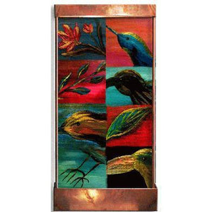 Feather Painted Wall Fountain - Earth Inspired Products