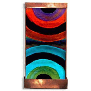 Over & Under Painted Wall Fountain - Earth Inspired Products