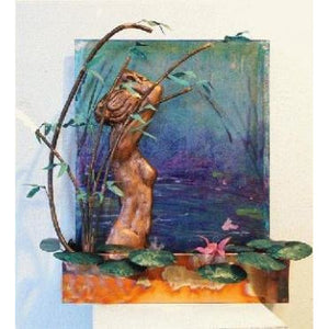 Bather Wall Fountain - Earth Inspired Products