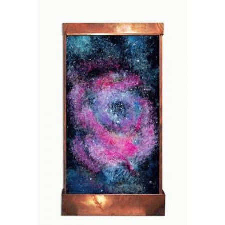 Rosetta Nebula Painted Wall Fountain - Earth Inspired Products