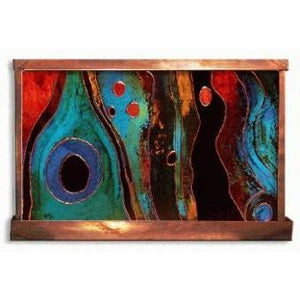 Sante Fe Painted Wall Fountain - Earth Inspired Products