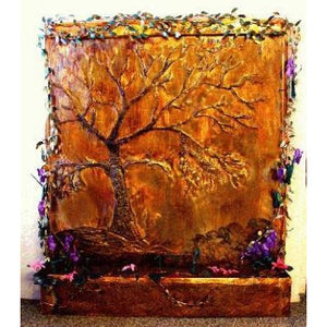 Slabtree Painted Wall Fountain - Earth Inspired Products