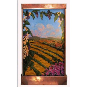 Sonoma Valley Painted Wall Fountain - Earth Inspired Products
