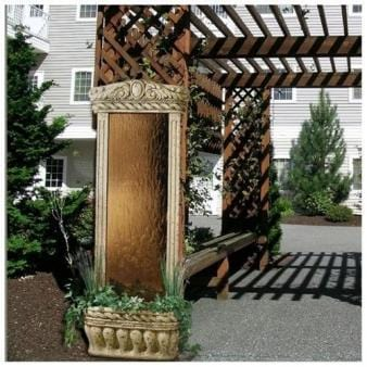6' Water Garden Series Floor Fountain - Earth Inspired Products