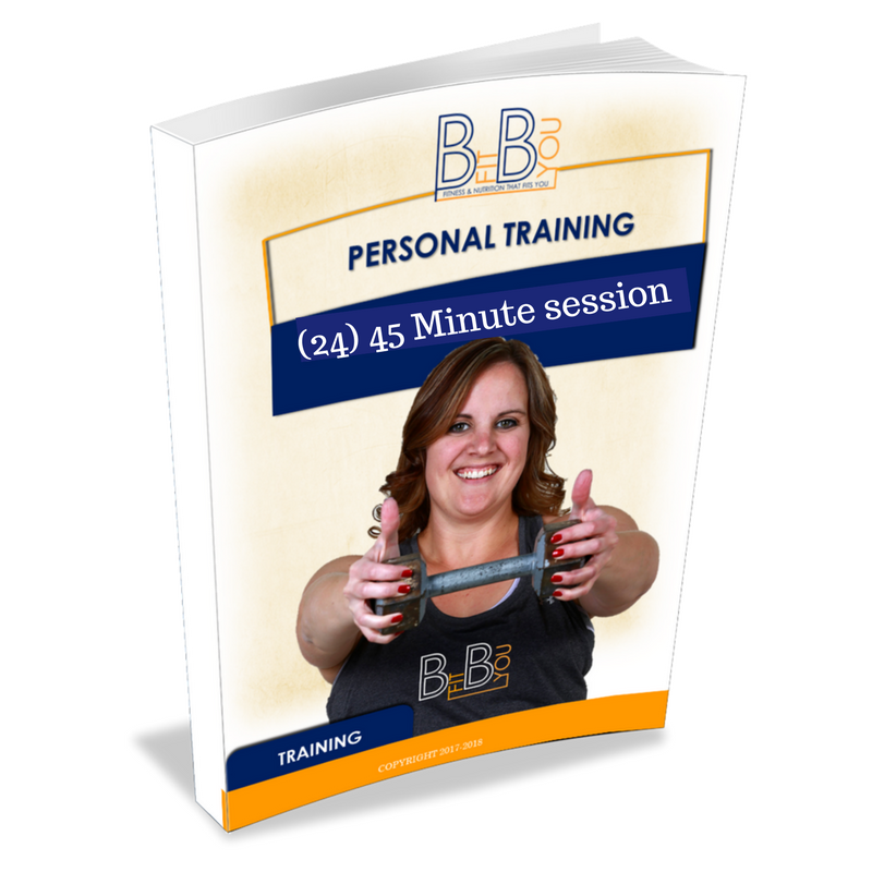 (24) 45 Minute In Studio Personal Training Sessions