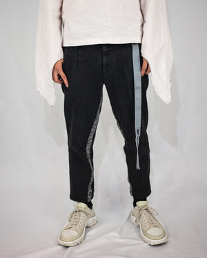 Unnecessary cropped jeans