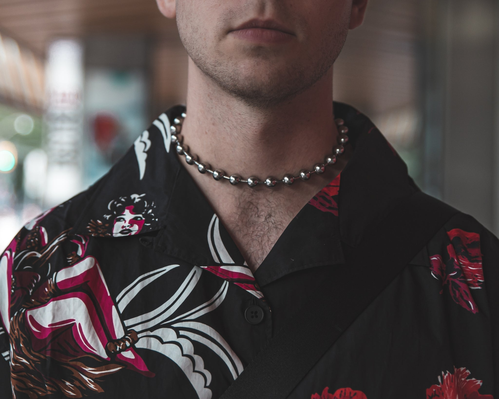 Unnecessary Beaded Choker