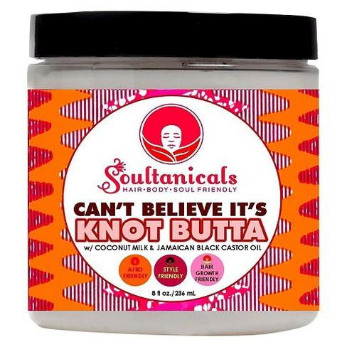 Hair butter that has Jamaican black castor oil and honey. It seals in Moisture and creates soft and shiny  hair.