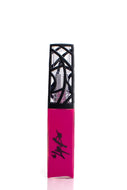 The Lipbar's pink matte lip gloss.  Vegan and cruelty free