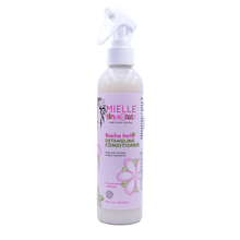 Children's organic conditioner.  It detangles and moisturizes your child's hair with no residue.