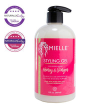 Mielle naturally curly award winning ginger honey styling gel