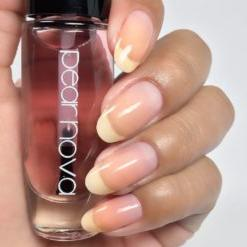 clear fast drying top coat vegan cruelty free nail polish. 5 free
