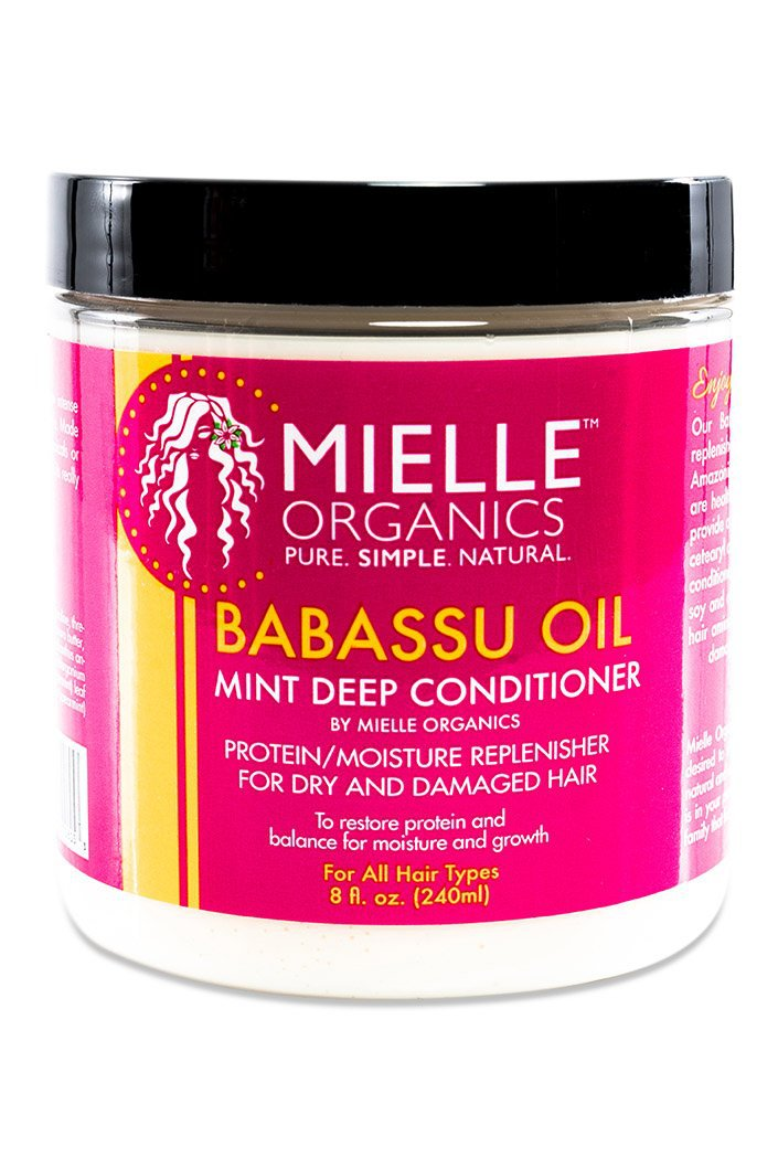Deep conditioner that replenishes moisture and helps reduce frizz.