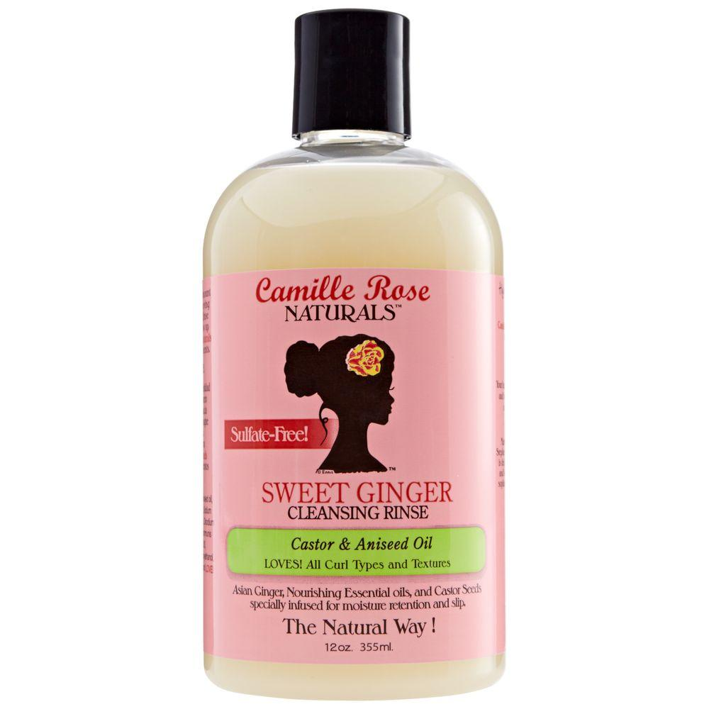 Shampoo that cleanses and softens hair strands without drying them out.