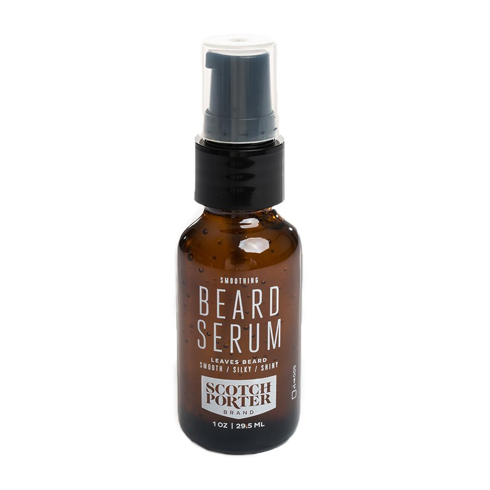 Beard serum leaves your beard moisturized, shiny and smooth.
