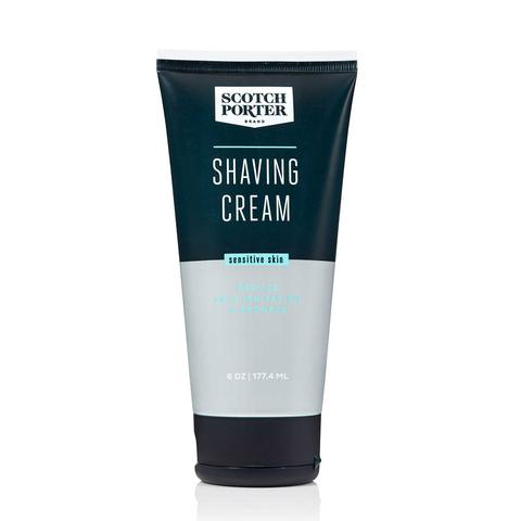 Shaving cream has skin conditioning agents that reduce irritation and redness