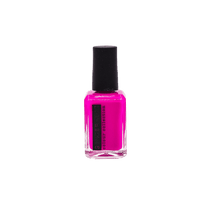 Ginger and Liz bright fuchsia vegan and cruelty free nail polish. 5 free