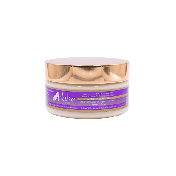 Anti-breakage and repair hair mask nourishes, and repair's the hair shaft.