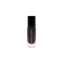 Pear Nova's chocolate brown vegan and cruelty free nail polish.  5 free