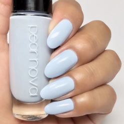 sky blue vegan cruelty and 5 free nail polish