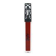 deep red moisturizing lip gloss. vegan and cruelty free