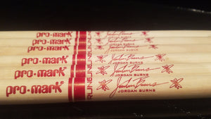 Jordan Burns Signature Drumsticks - PAIR (2)