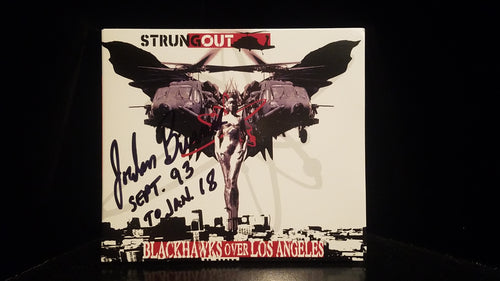 Jordan Burns Signed Blackhawks CD