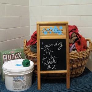 Laundry Tip for Hard Water