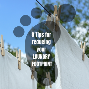 footprint and laundry clothesline