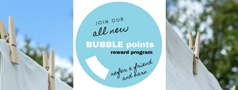 Claudia's Choices BUBBLE points reward program