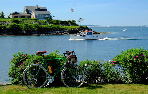 bike ride to Cape Neddick Lighthouse