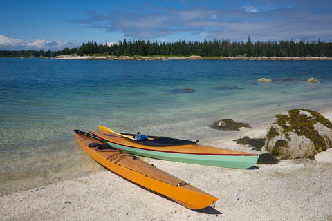 Quickbeam Sea Kayak and Fox Canoe at Sellers