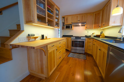 Kitchen desing and build in Portland, ME