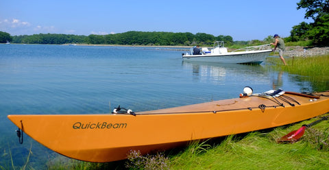 Quickbeam kayak at Brave Boat Harbor