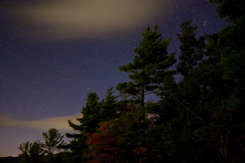 night sky Highlands North Carolina