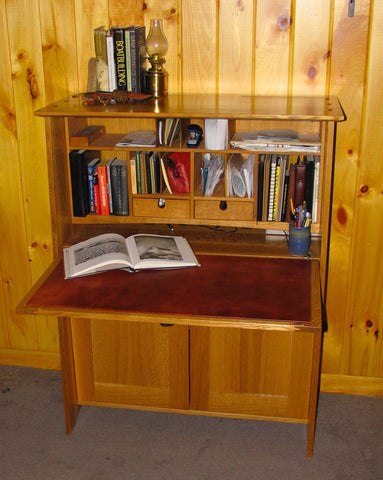 Quarter Sawn White Oak desk