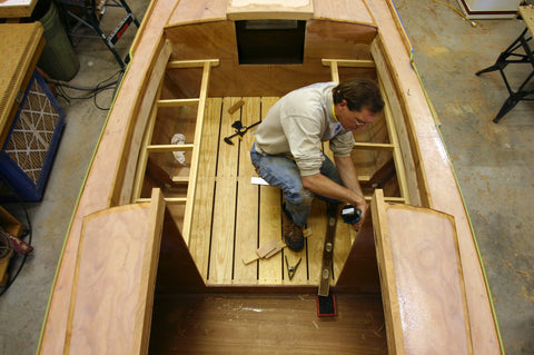 Building a Redwing Boat