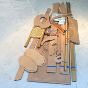 Bill Thomas Fox Canoe Kit parts