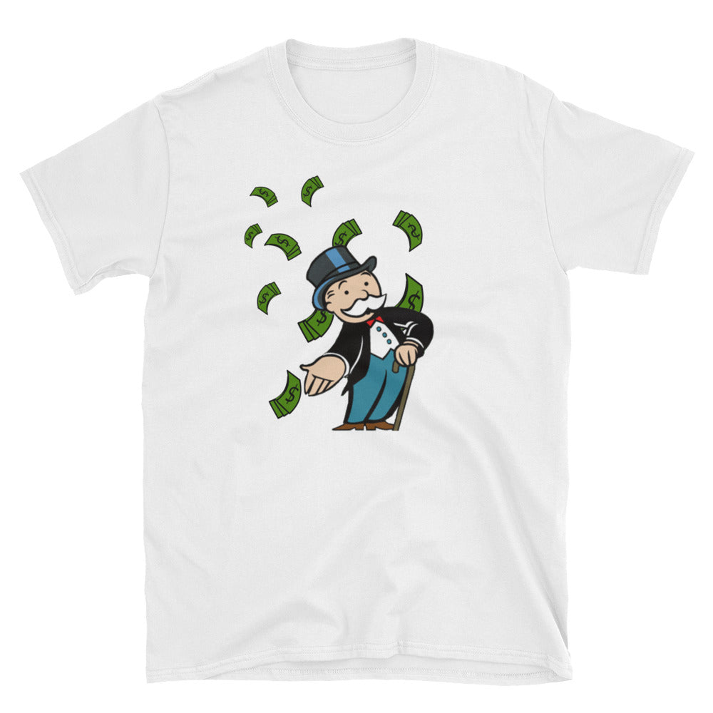 Mr. Monopoly Money Rain T-Shirt