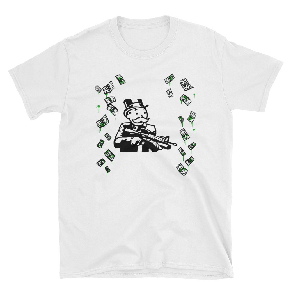 Mr. Monopoly Scarface T-Shirt
