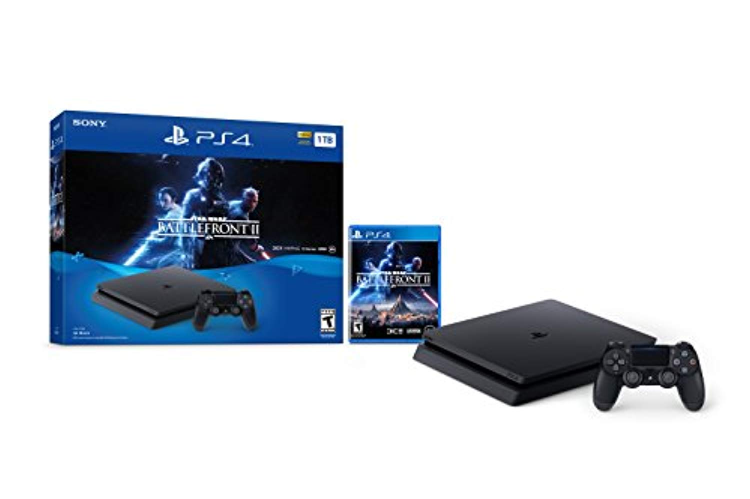 PlayStation 4 Slim 1TB Console - Star Wars Battlefront II Bundle [Discontinued]