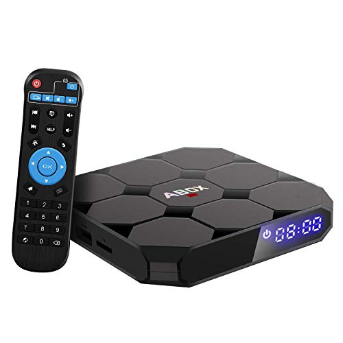 2019 Model GooBang Doo ABOX A1 max Android 7.1 TV Box, 2GB RAM 16GB ROM Bluetooth 4.0 Amlogic S905W Quad Core A53 Processor 64 Bits