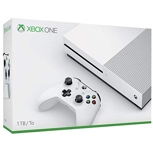 Microsoft Xbox One S 1TB Console with Xbox One Wireless Controller - Robot White