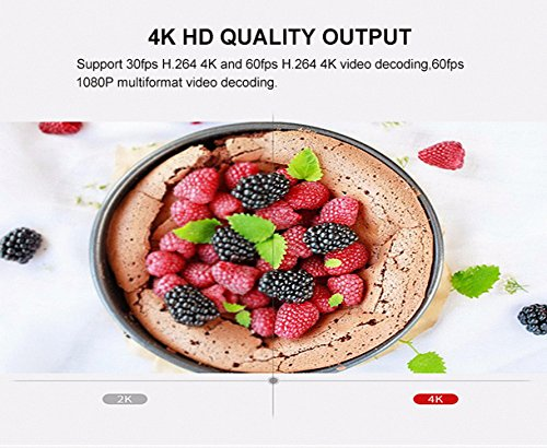 Best Streaming  Android TV BOX Smart Mini PC Media Box Amlogic S912 Octa Core UHD 4K2K/3D/ 3G/32G Set Top Box Media Player Included Wireless Keyboard Remote  Backlight