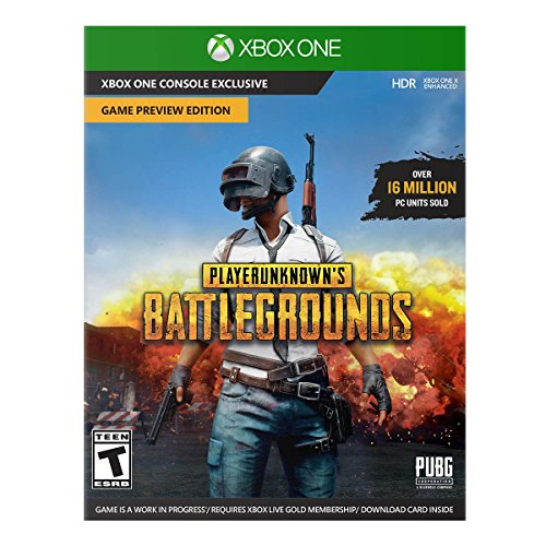 Xbox One X 1TB Console - PLAYERUNKNOWN'S BATTLEGROUNDS Video Game Console Bundle