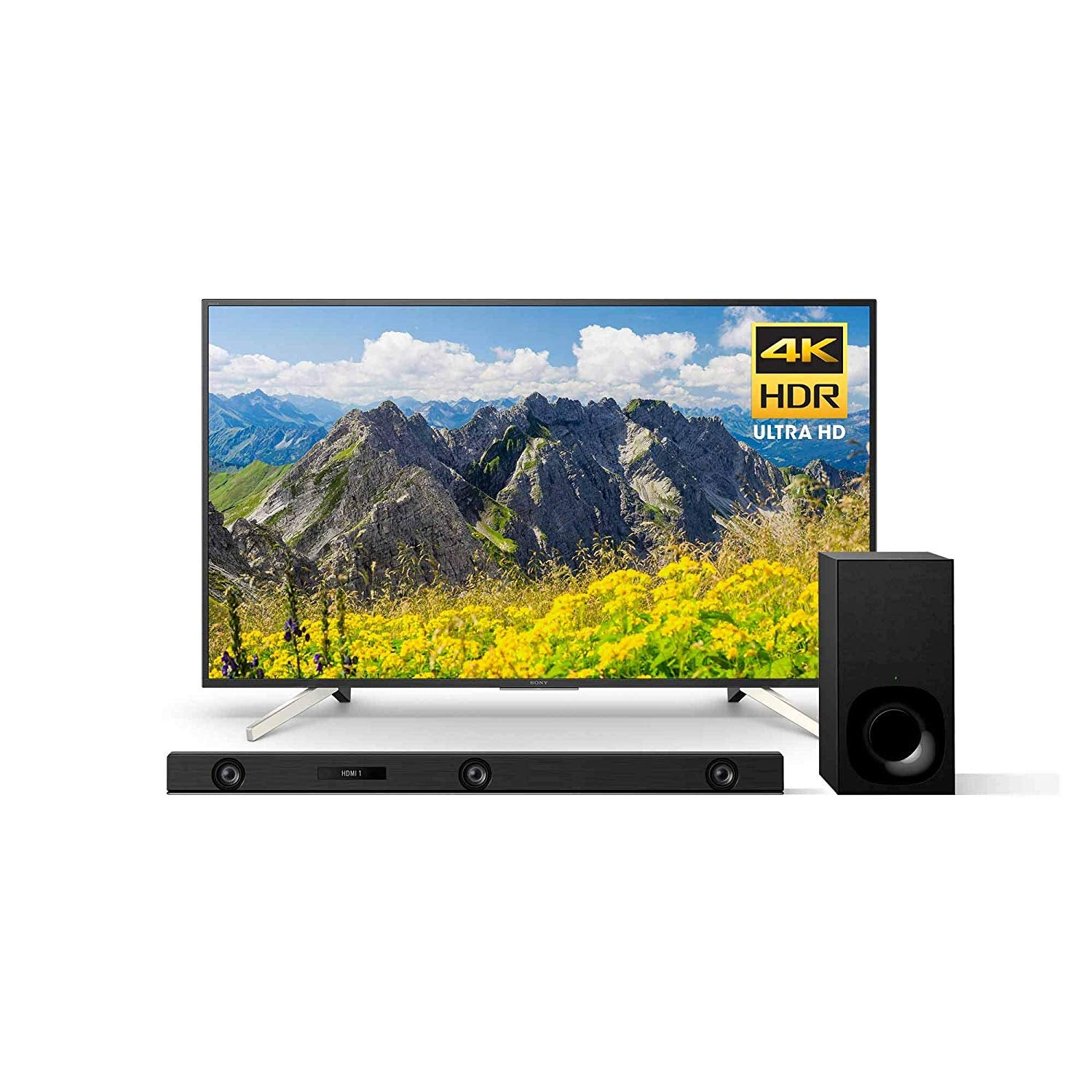 Sony KD55X750F 55-Inch 4K Ultra HD Smart LED TV (2018 Model)