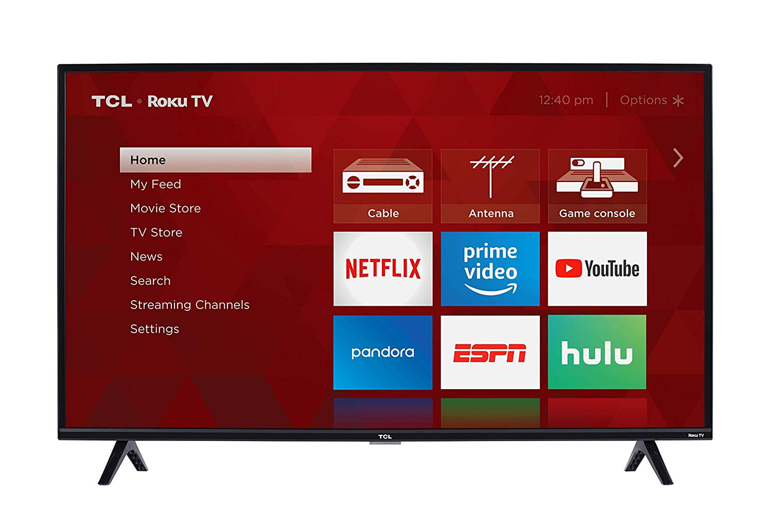 TCL 40S325 40 Inch 1080p Smart LED Roku TV (2019) Electronics