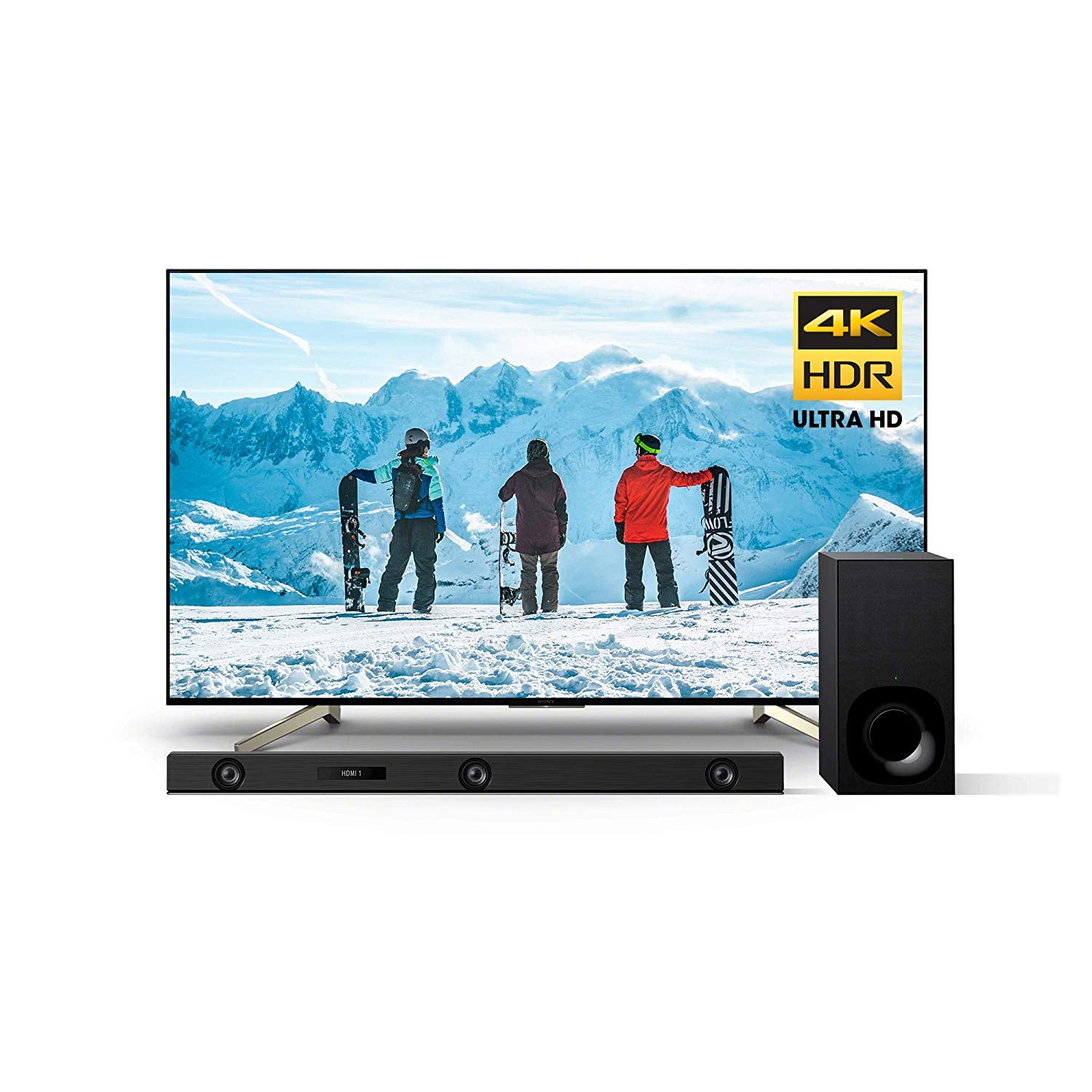 Sony XBR75X850F 75-Inch 4K Ultra HD Smart LED TV (2018 Model)